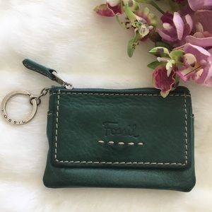 Fossil Green Card Wallet